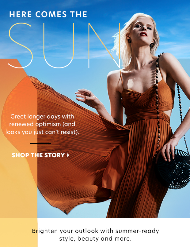 sunshine + style + accessories + beauty + home