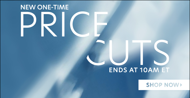 12 Hours: ONE-TIME Price Cuts. Don't blow it.