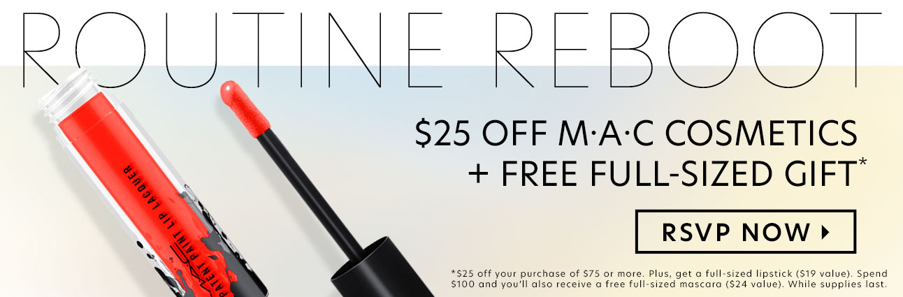 $25 Off MAC Cosmetics